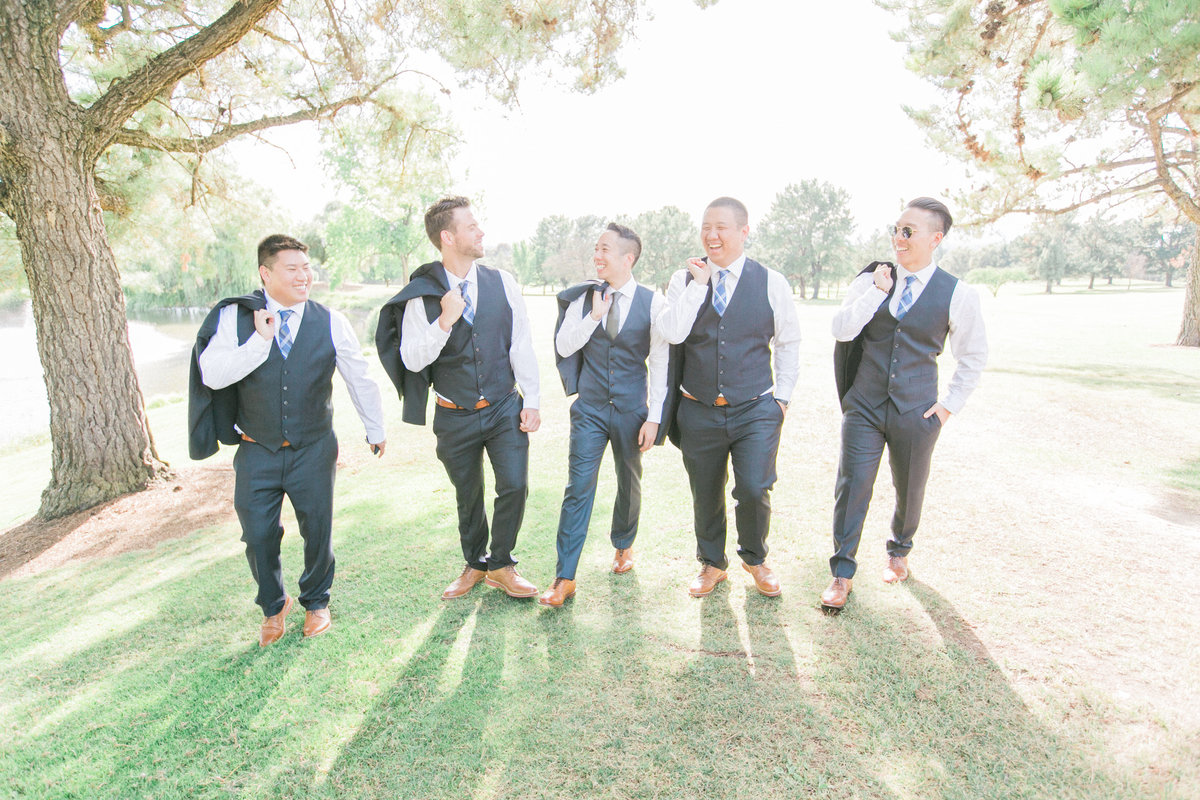 The Black Tux Groomsmen Suits