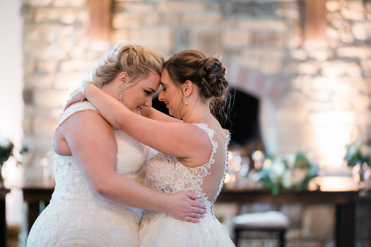 historic acres of hershey wedding - first dance