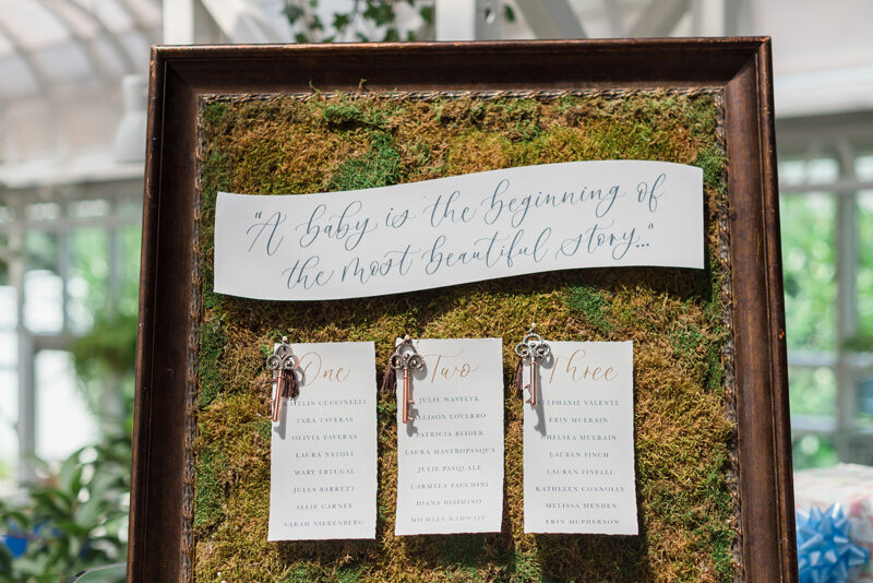 www.pirouettepaper.com |  Wedding Invitations, Calligraphy nd Wedding Stationery |Madison Hotel Baby Shower | _ Pirouette Paper Company | Keri Calabrese Photography _ 25