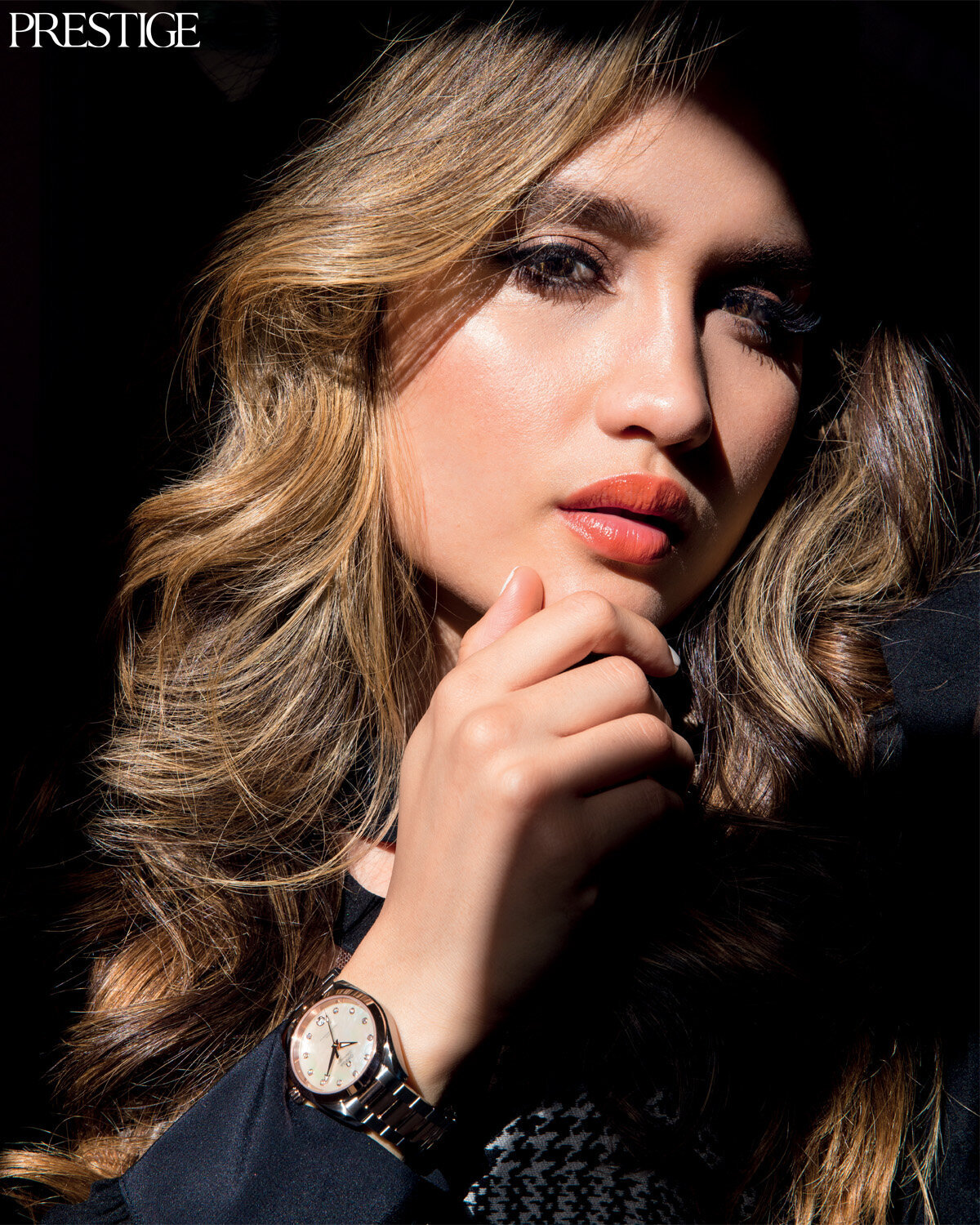 Prestige magazine, Omega, Cinta Laura, Hair and makeupartist Trine Juel 9