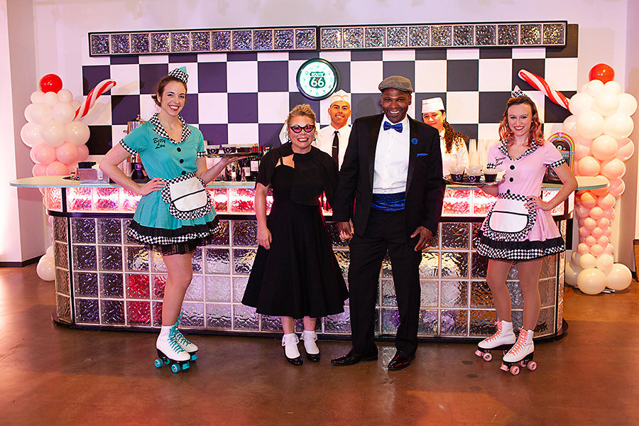 Pop Parties Corporate Event Planner Sock Hop Theme Party 6