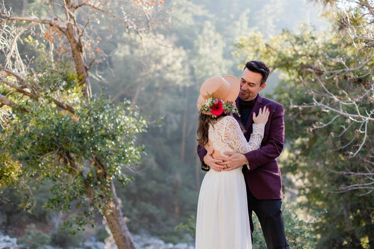 Mt. Baldy Elopement, Mt. Baldy Styled Shoot, Mt. Baldy Wedding, Forest Elopement, Forest Wedding, Boho Wedding, Boho Elopement, Mt. Baldy Boho, Forest Boho, Woodland Boho-9