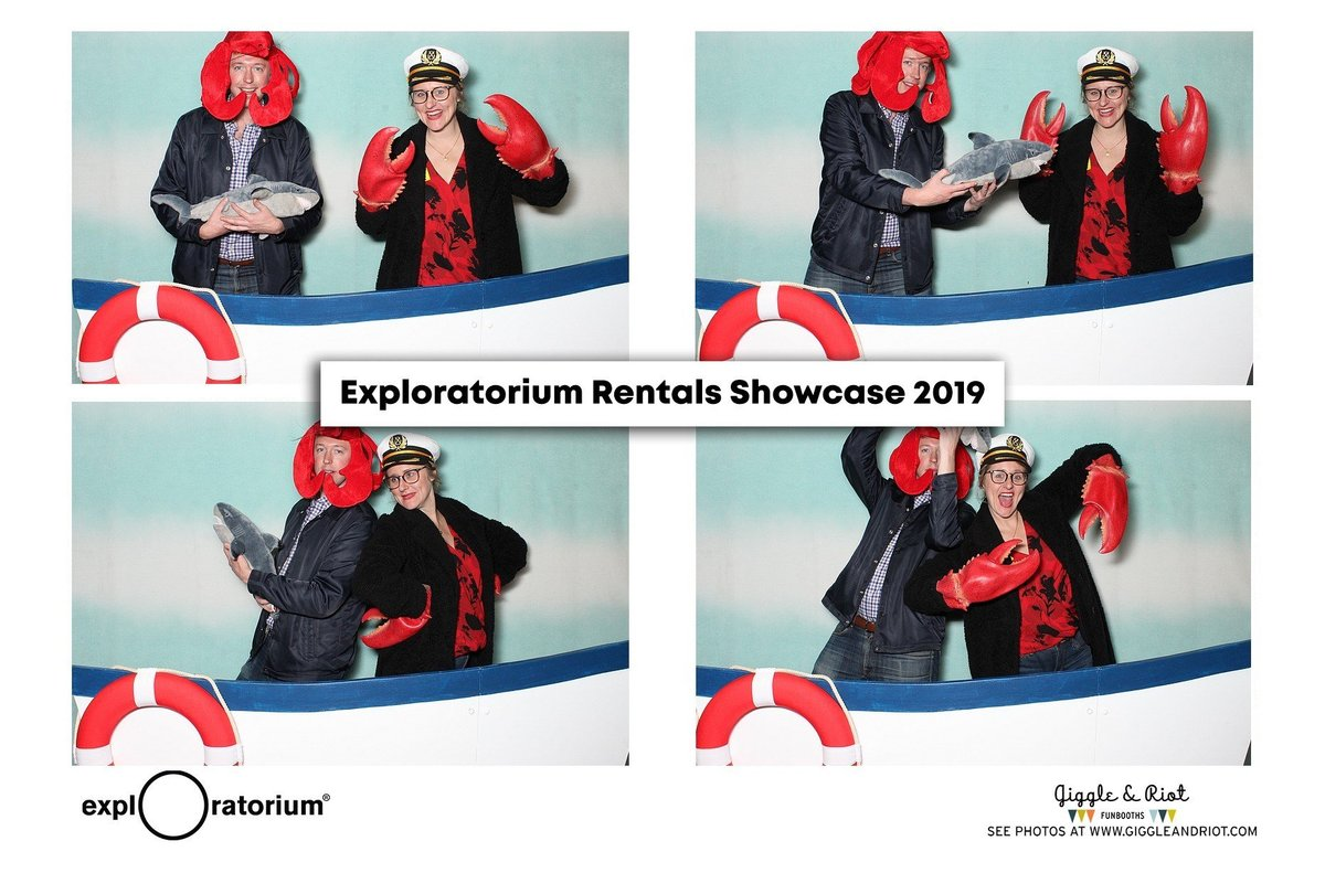 exploratorium ocean theme photo booth