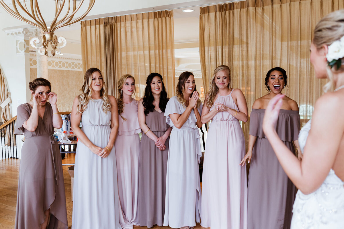 Chicago-Wedding-Photographer-Bridesmaids-First-Look