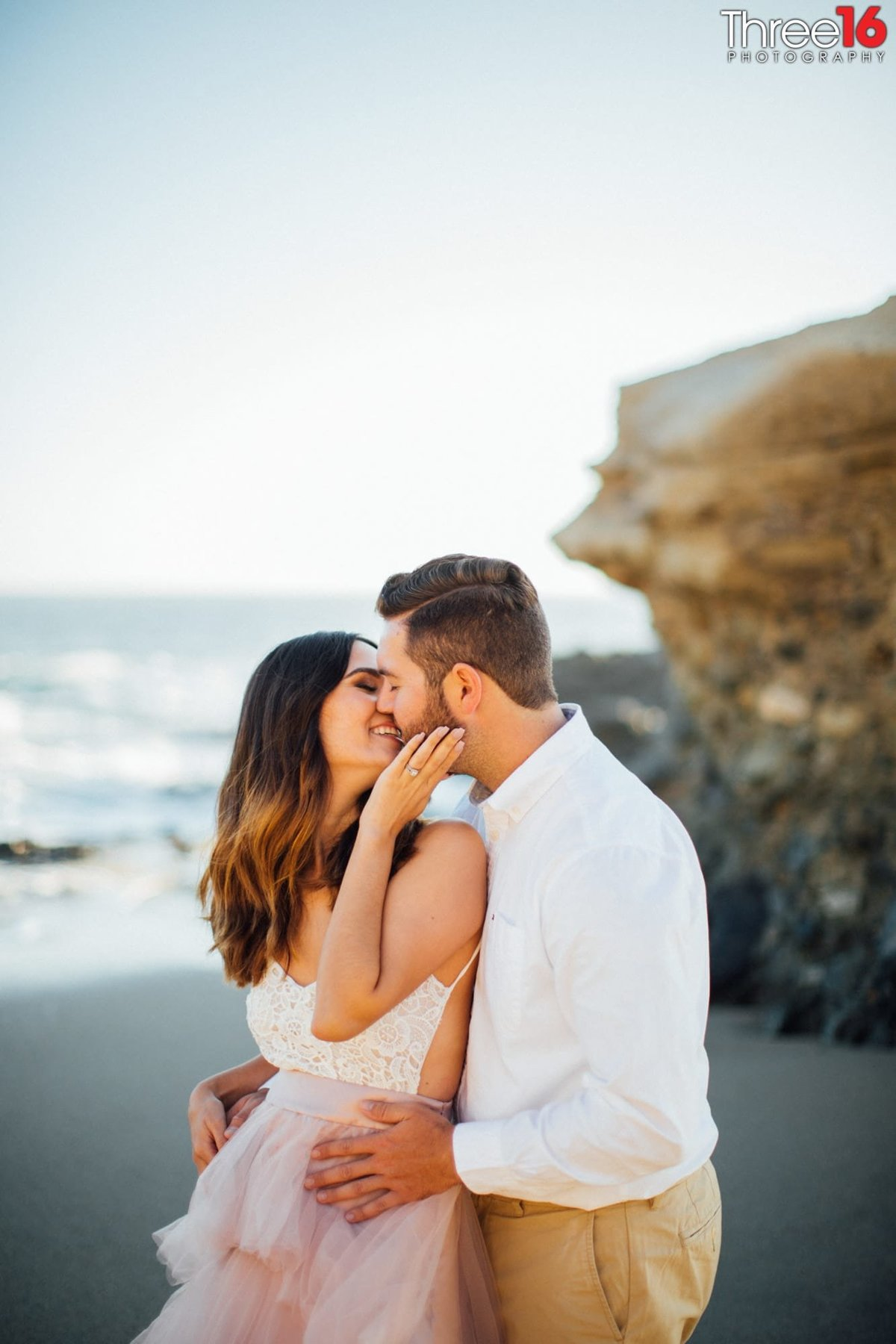 Table Rock Beach Engagement Sessions Laguna Beach Orange County