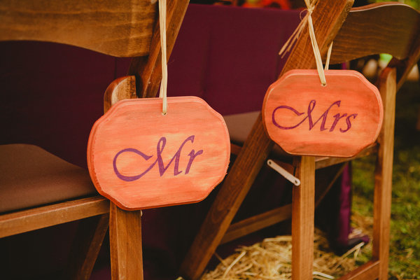 Farm home tent wedding fall rustic11