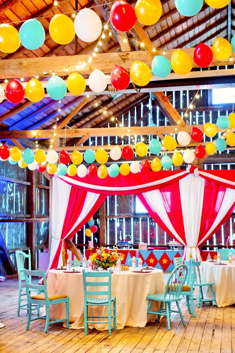 Circus Themed 1st Birthday Indianapolis Party Planner_0053
