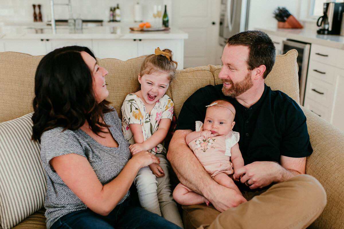Encinitas in-home Newborn Lifestyle Photographer couch cuddles-43