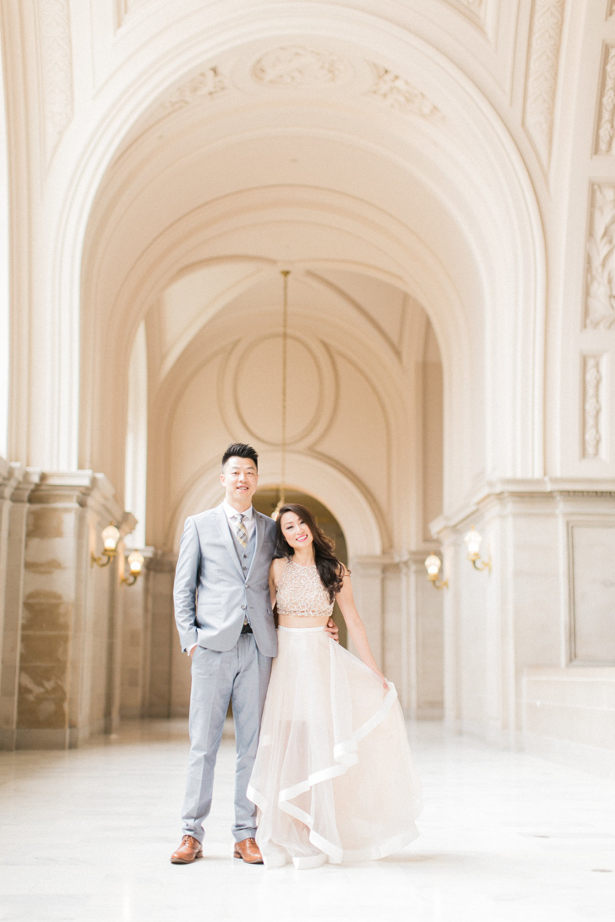 San Francsico City Hall Wedding Photography
