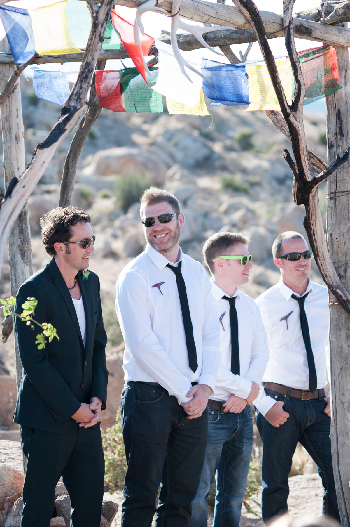 Destination Wedding Photography Joshua Tree Wedding Photography Le Haut Desert Aerie056