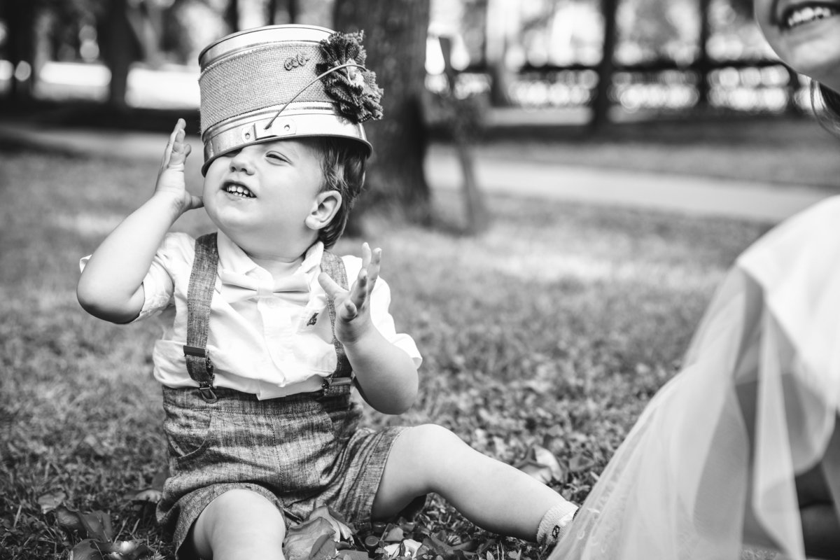 terrace club wedding photographer ring bearer bucket on head 2600 US-290, Dripping Springs, TX 78620