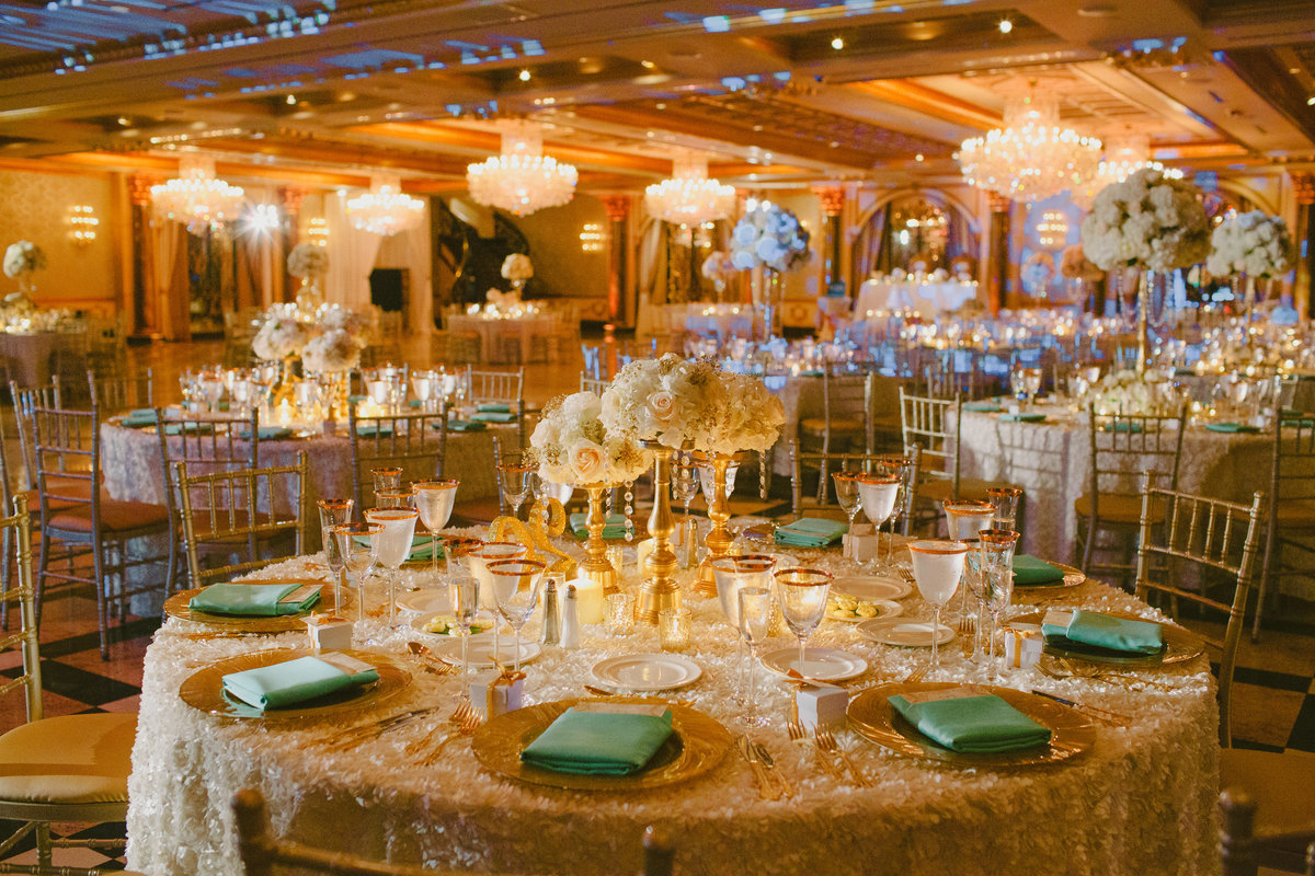 ivory gold tiffany blue beautiful wedding venetian new jersey nj event designer 17