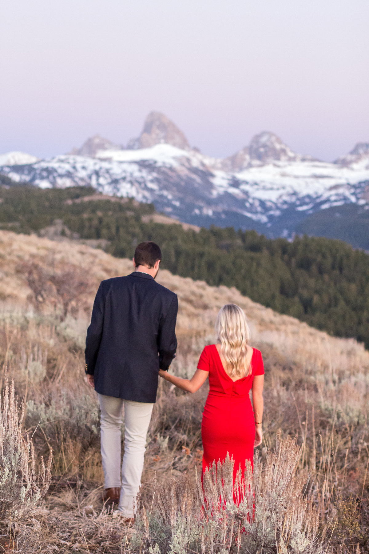 Engagement session, jackson hole, wyoming, alta, teton canyon, couples photos, Grand Targhee Resort, overlook