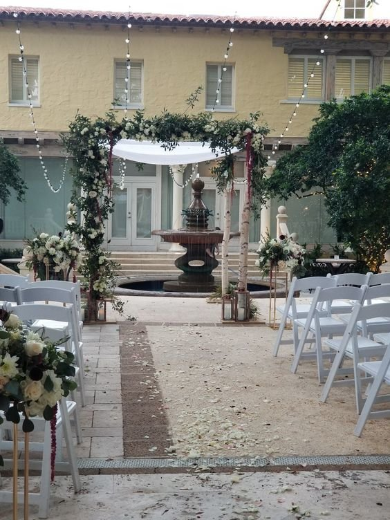Birch Asymmetric Chuppah