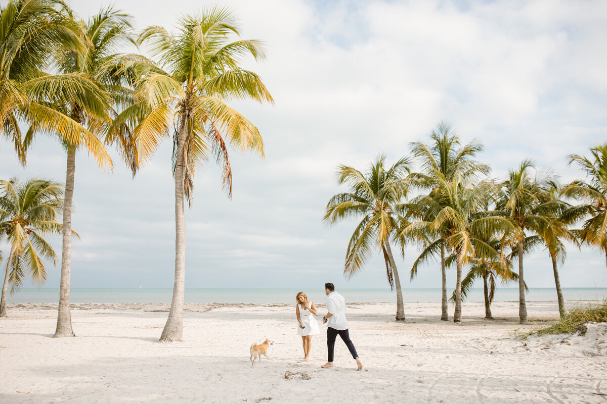 Crandon Beach Engagement Photography Session 11