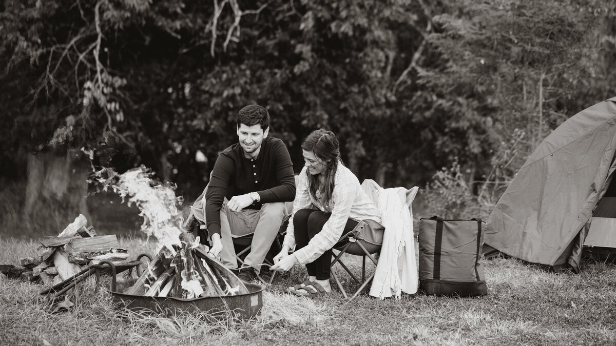Renee_Jeff_Engagement Session_BW-27