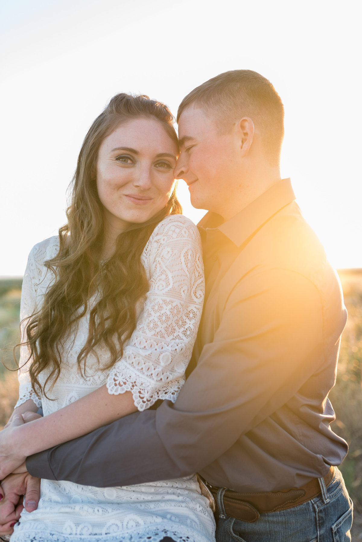 Spring Boise Foothills Engagement Shoot13