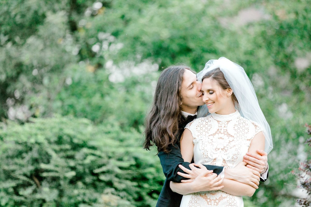 Light and Airy wedding day portrait taken at Mayfair farm in Harrisville NH.  Taken by K. Lenox Photography