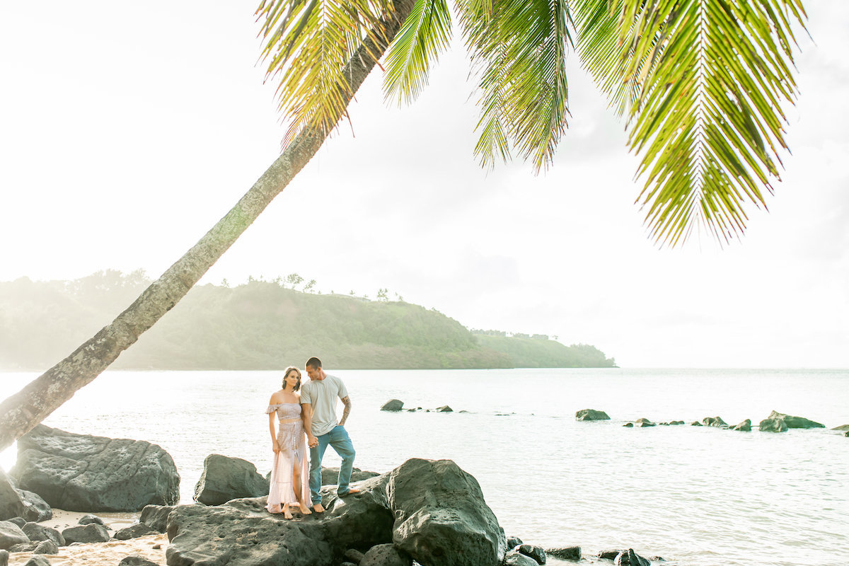 Kauai Couples Portraits in Hawaii