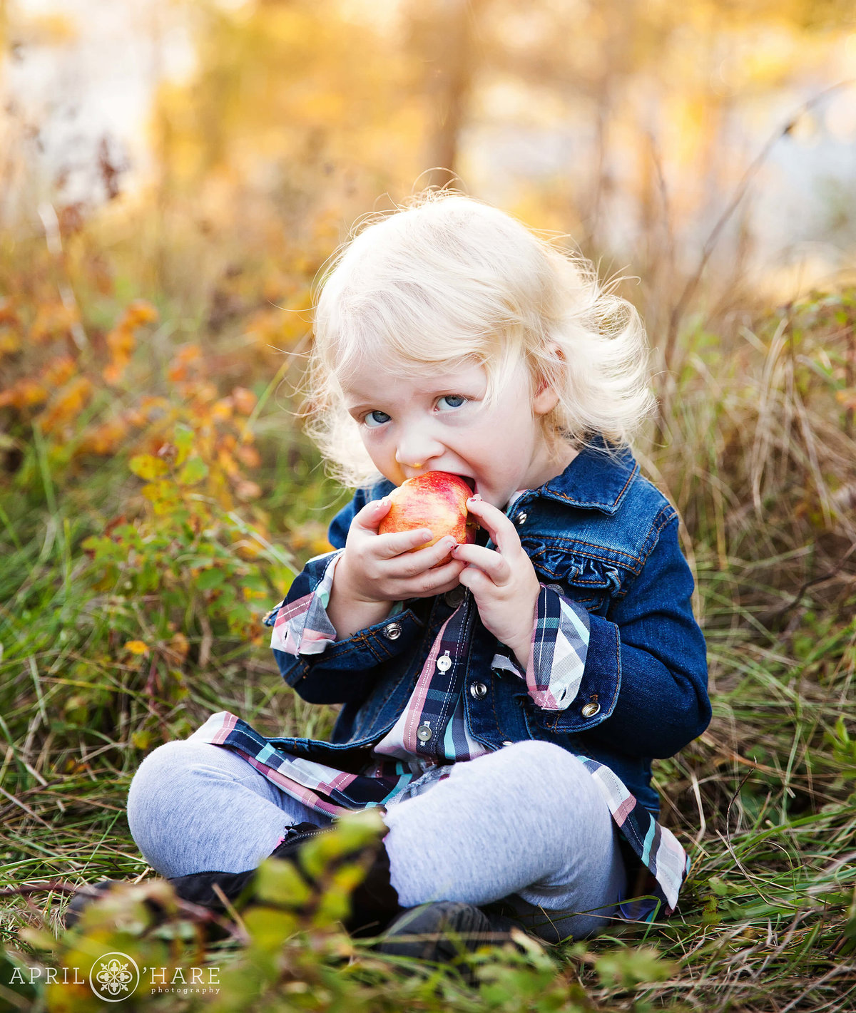 Cute Children's Photography During Fall in Boulder Colorado
