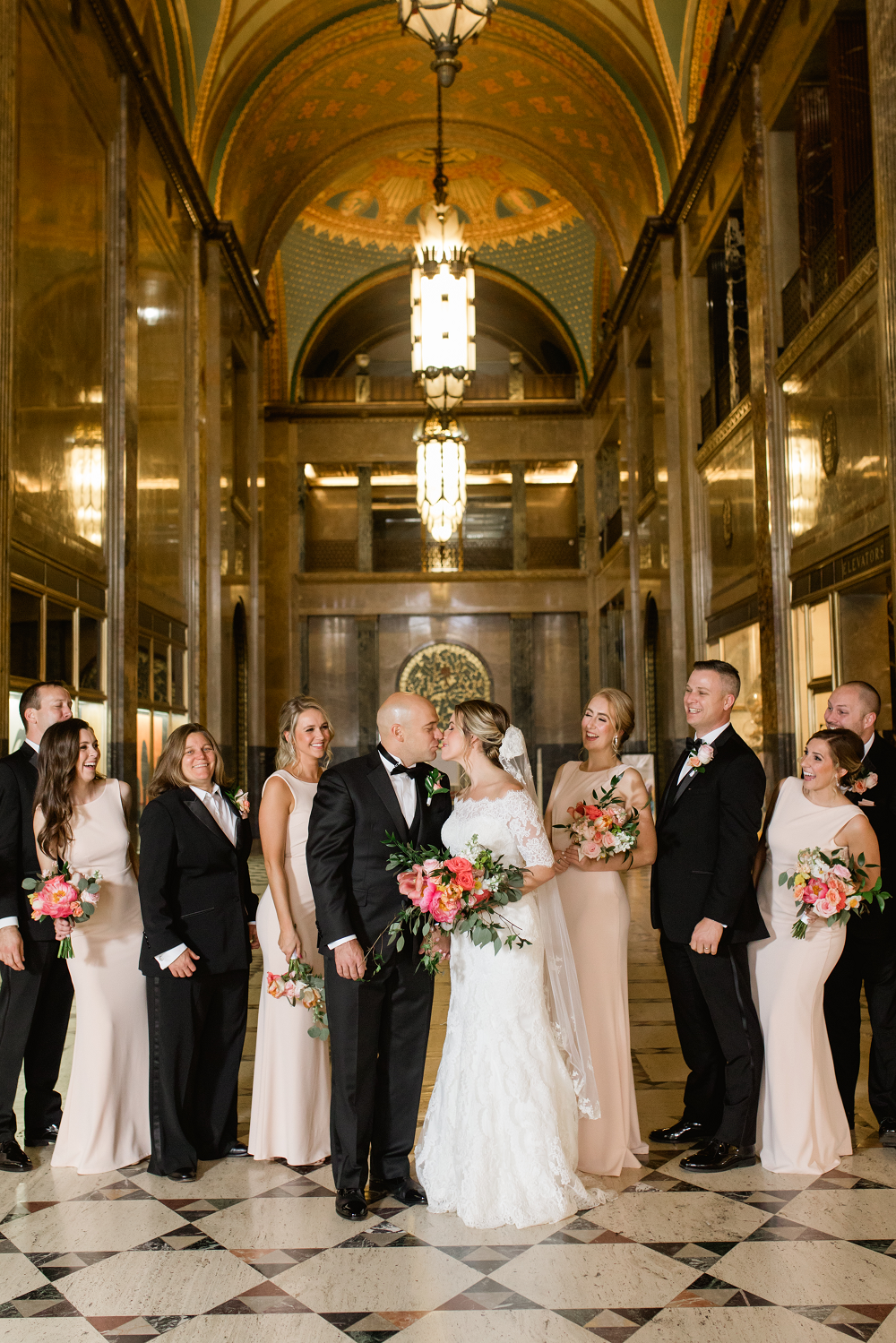 Detroit Yaght Club Wedding With Laura And John Details Bridal Party