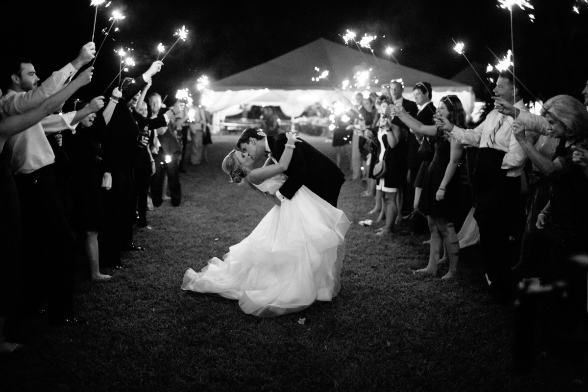 Newlywed Sparkler Send-off