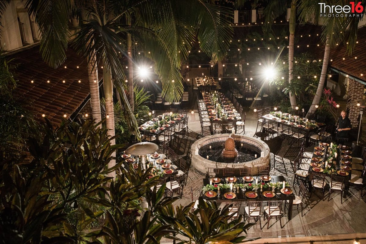outdoor wedding Villa Del Sol