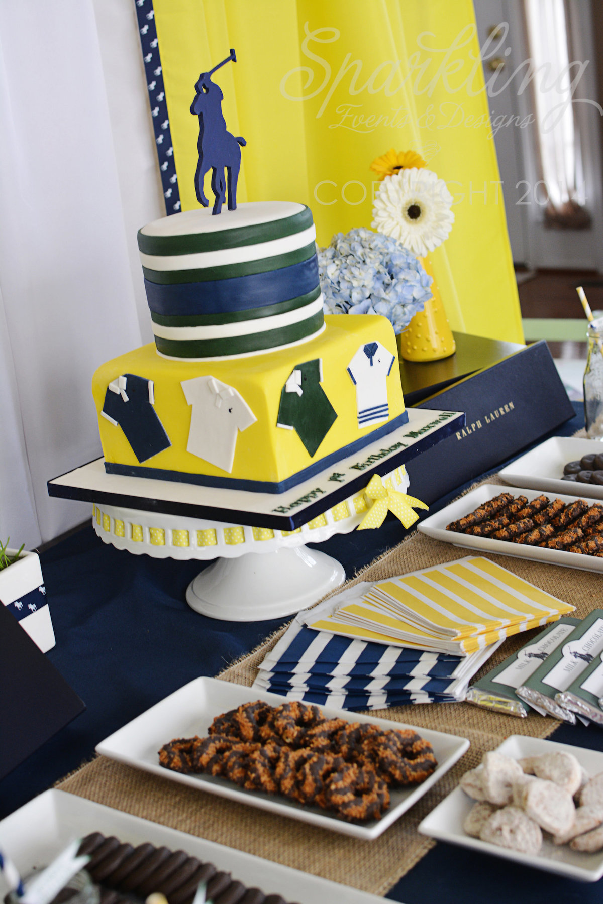 Sparkling Events Designs - Polo Party Dessert Table 2
