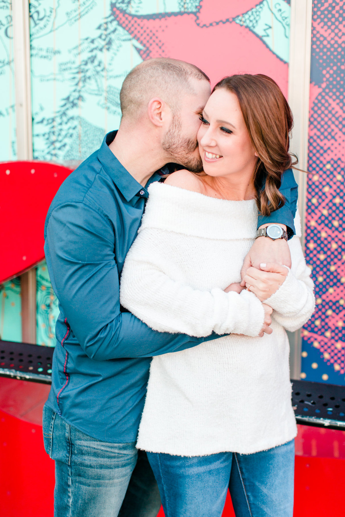 Downtown Seattle Engagement Session_0010