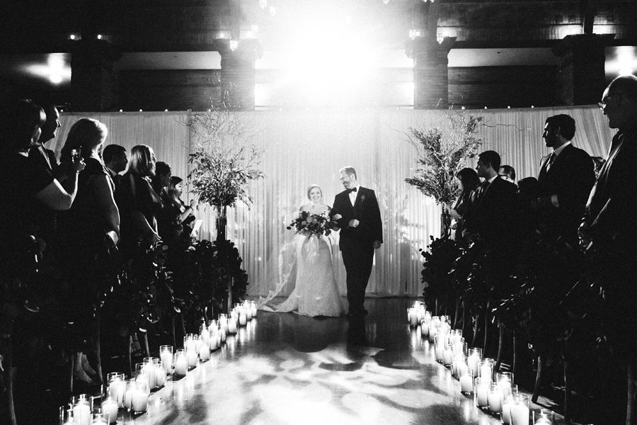 Winter Wedding at Cafe Brauer