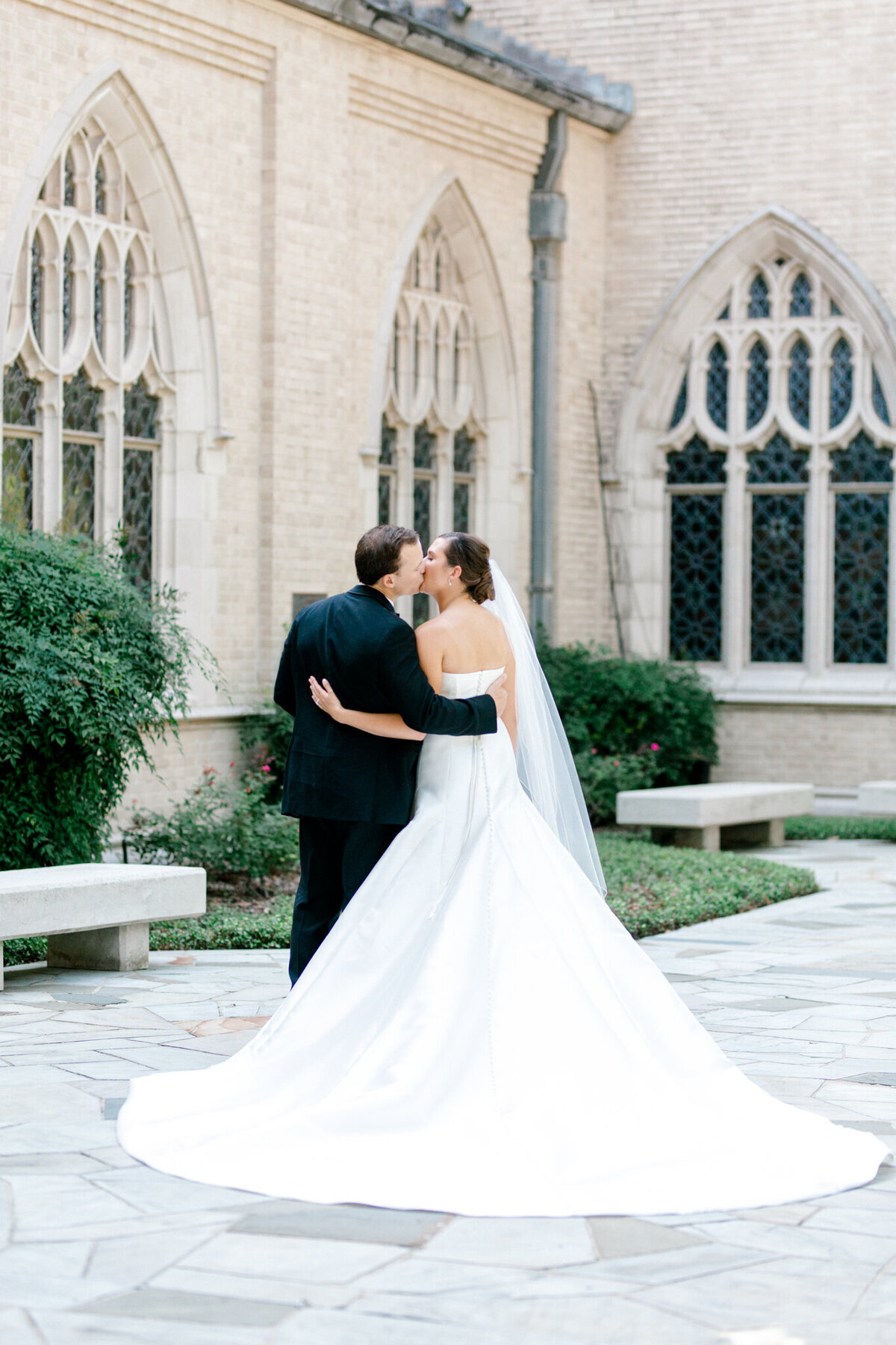 Wedding at the Crescent Court Hotel and Highland Park United Methodist Church in Dallas | Sami Kathryn Photography | DFW Wedding Photographer-133