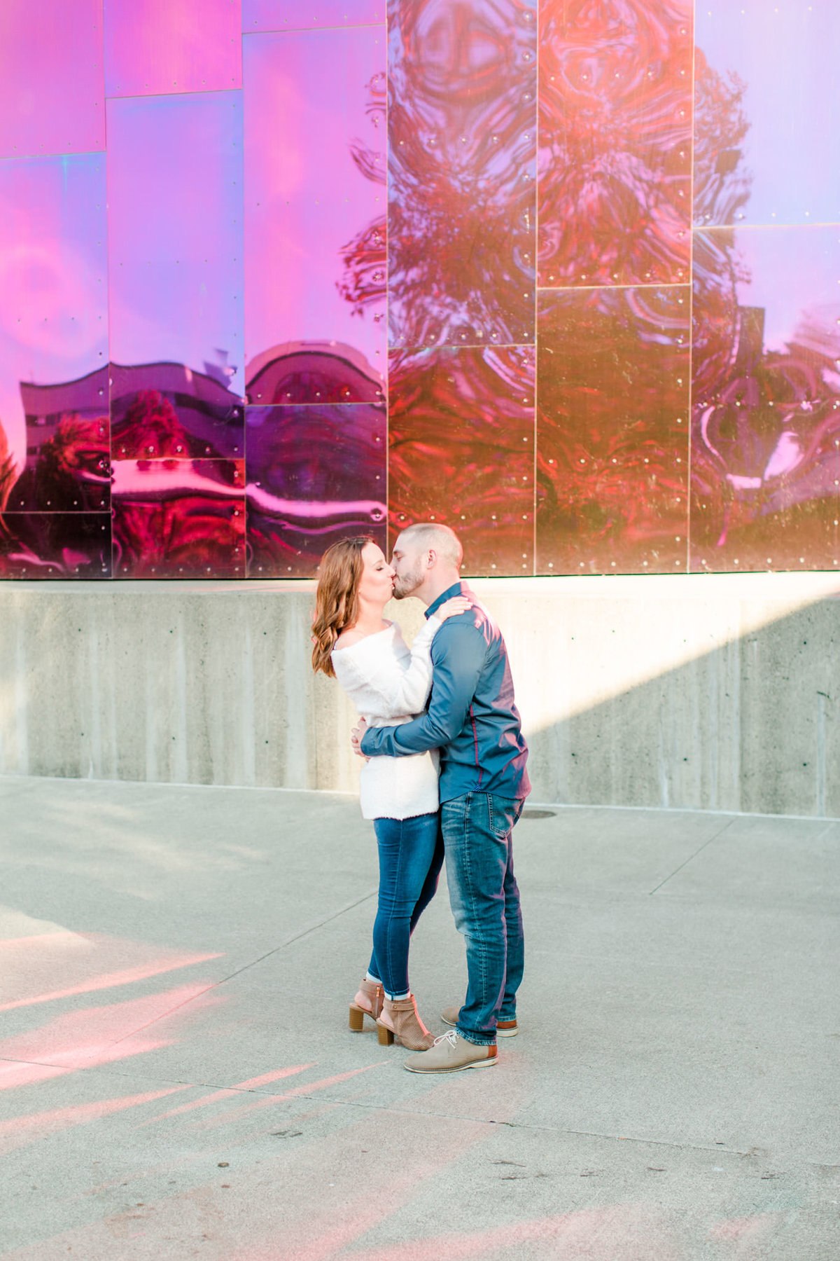 Downtown Seattle Engagement Session_0013