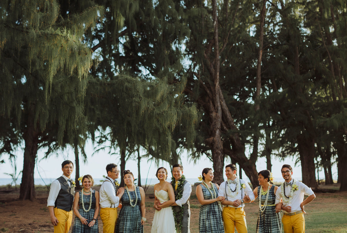 waimea plantations wedding