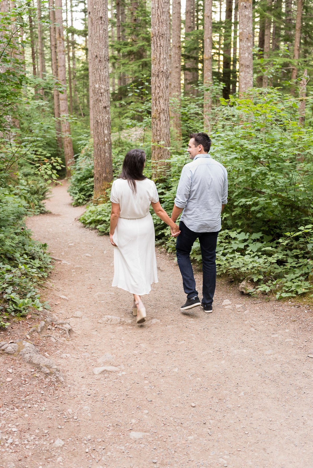 Rattlesnake Lake Engagement Session - 50