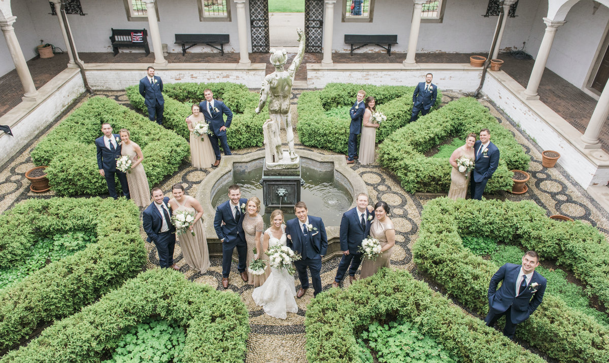 Villa Terrace Wedding Milwaukee