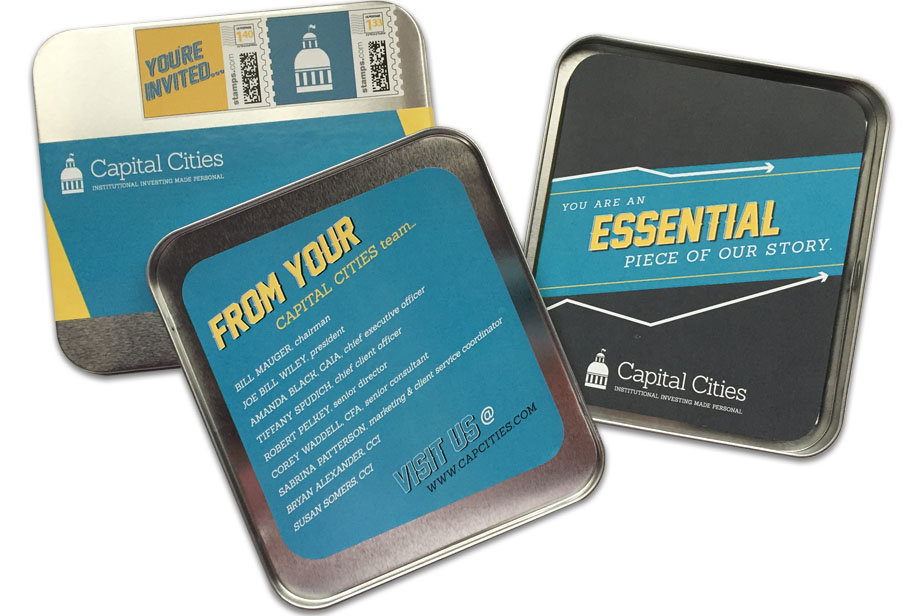 Capital Cities Invitation Package Event Branding