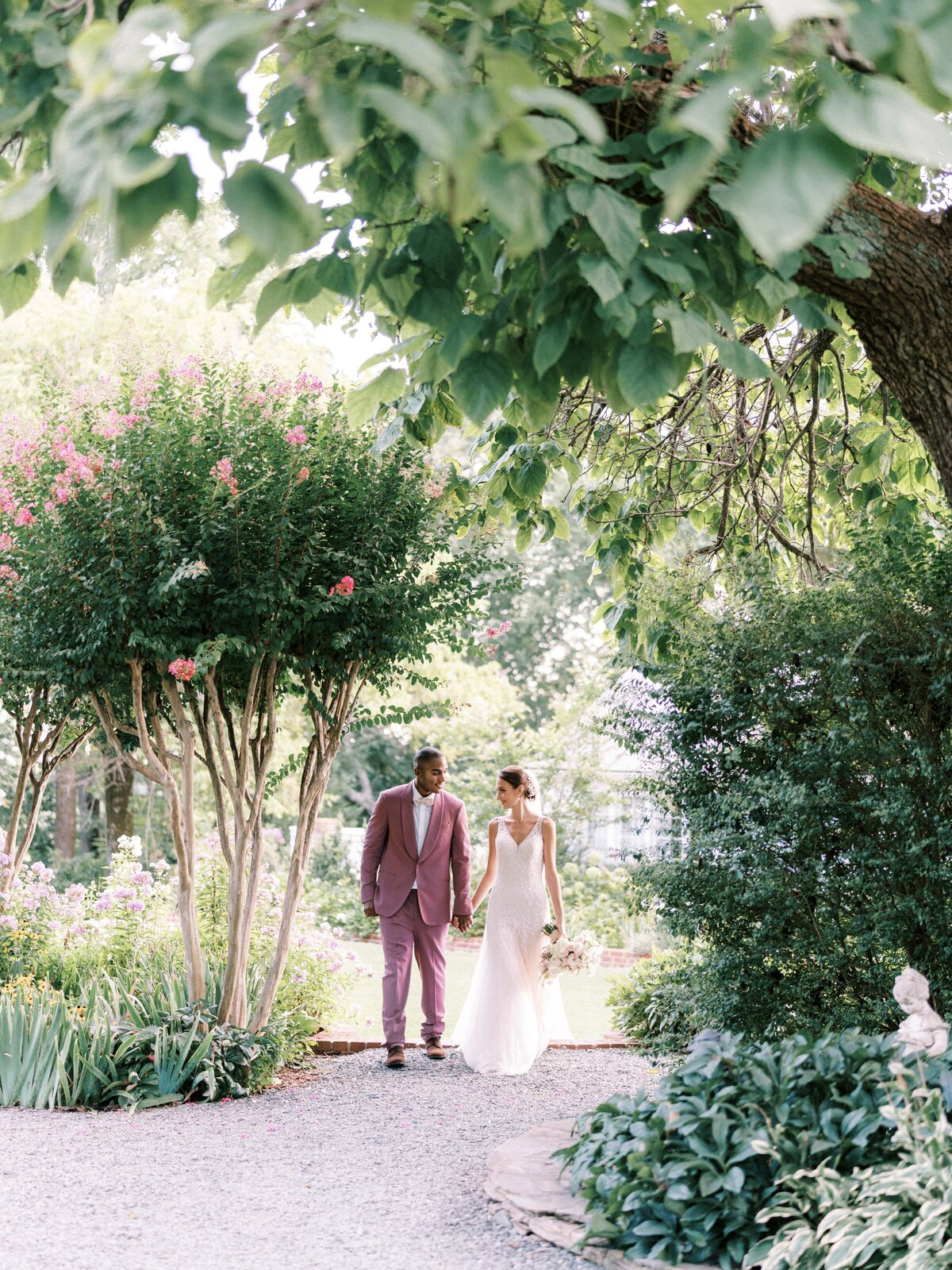 Bride and Groom pictures at The Clifton Inn Charlottesville Virginia Wedding Venue