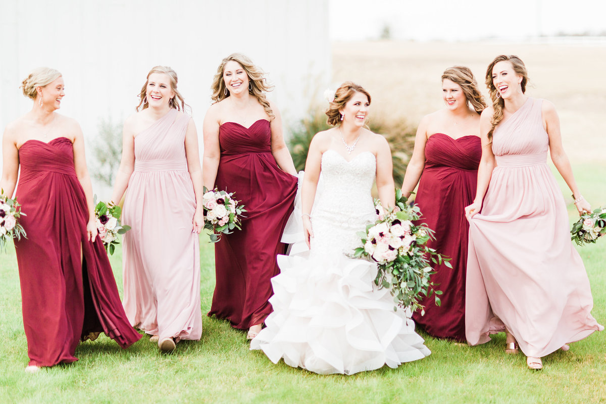 The Milestone Morgan Creek Barn Walters Estates Bridesmaids