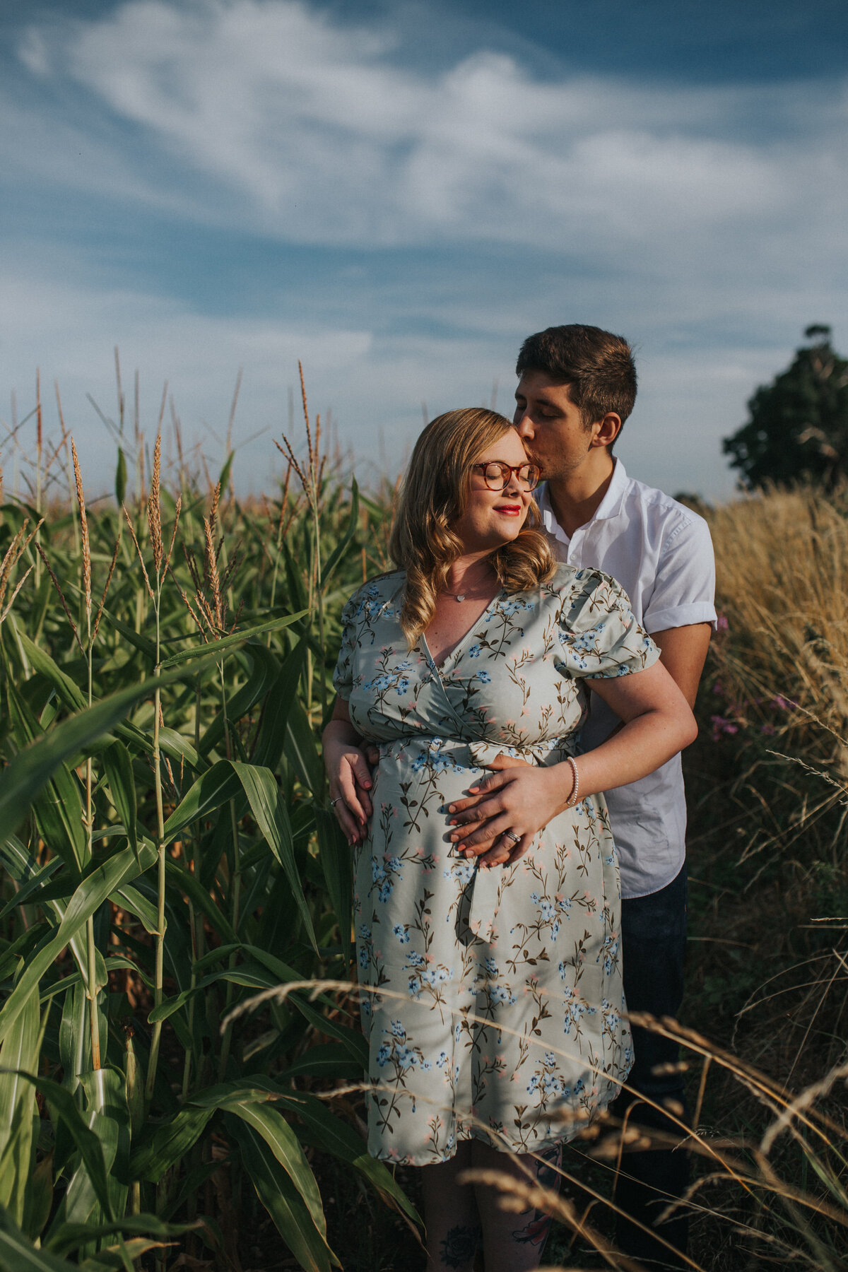 Maternity photoshoot in Coleshill, Warwickshire