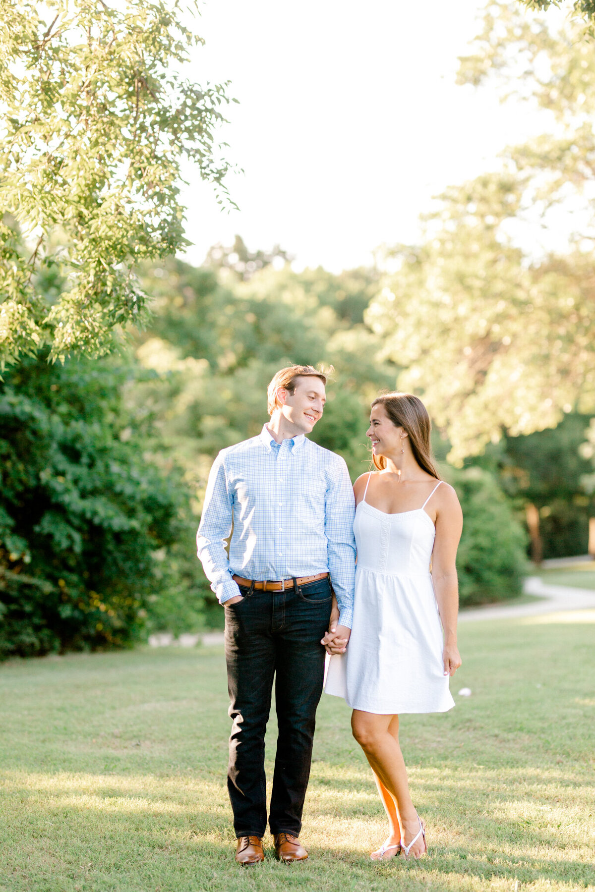 Christina & Steven Engagement Session at Prairie Creek Park in Richardson, Texas | DFW Wedding Photographer | Sami Kathryn Photography-4