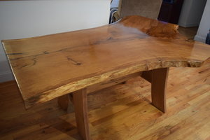 Live Edge Dining Room Table by Sam Rouse Furniture