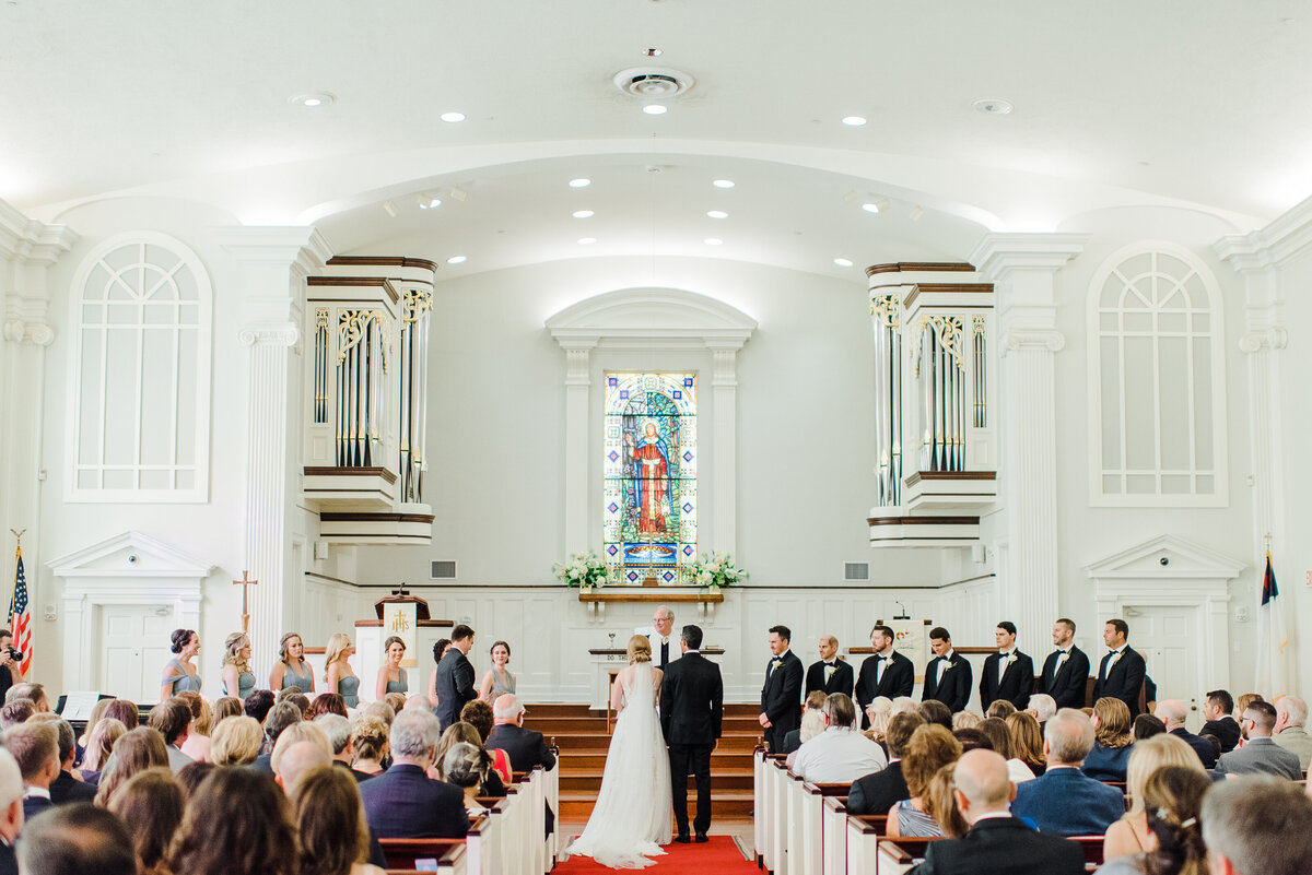 Indoor Catholic Wedding