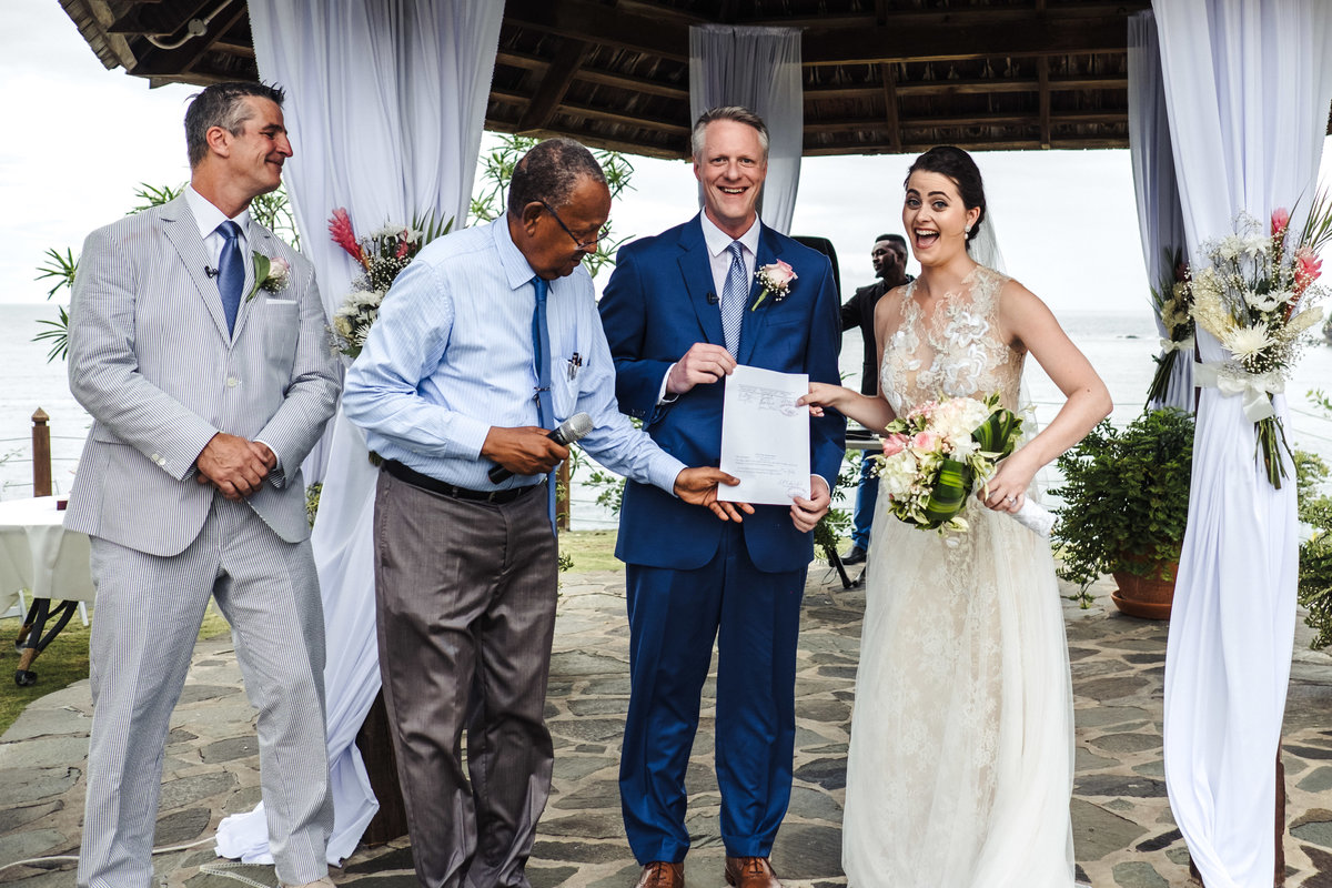 Cap Maison St Lucia Destination Wedding - 140