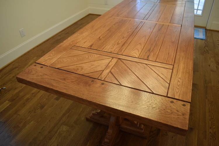 Hickory Table Top made by Sam Rouse Furniture
