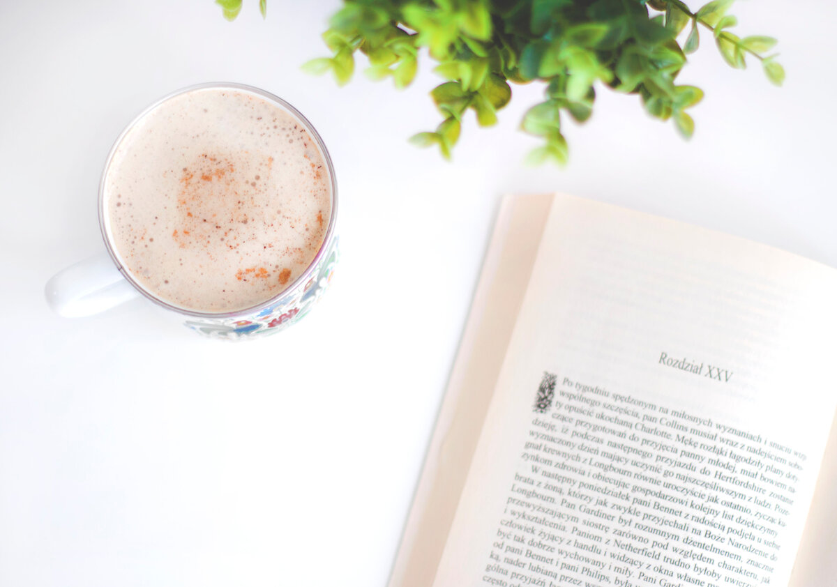 Canva - Flatlay Photography of Book and Cup