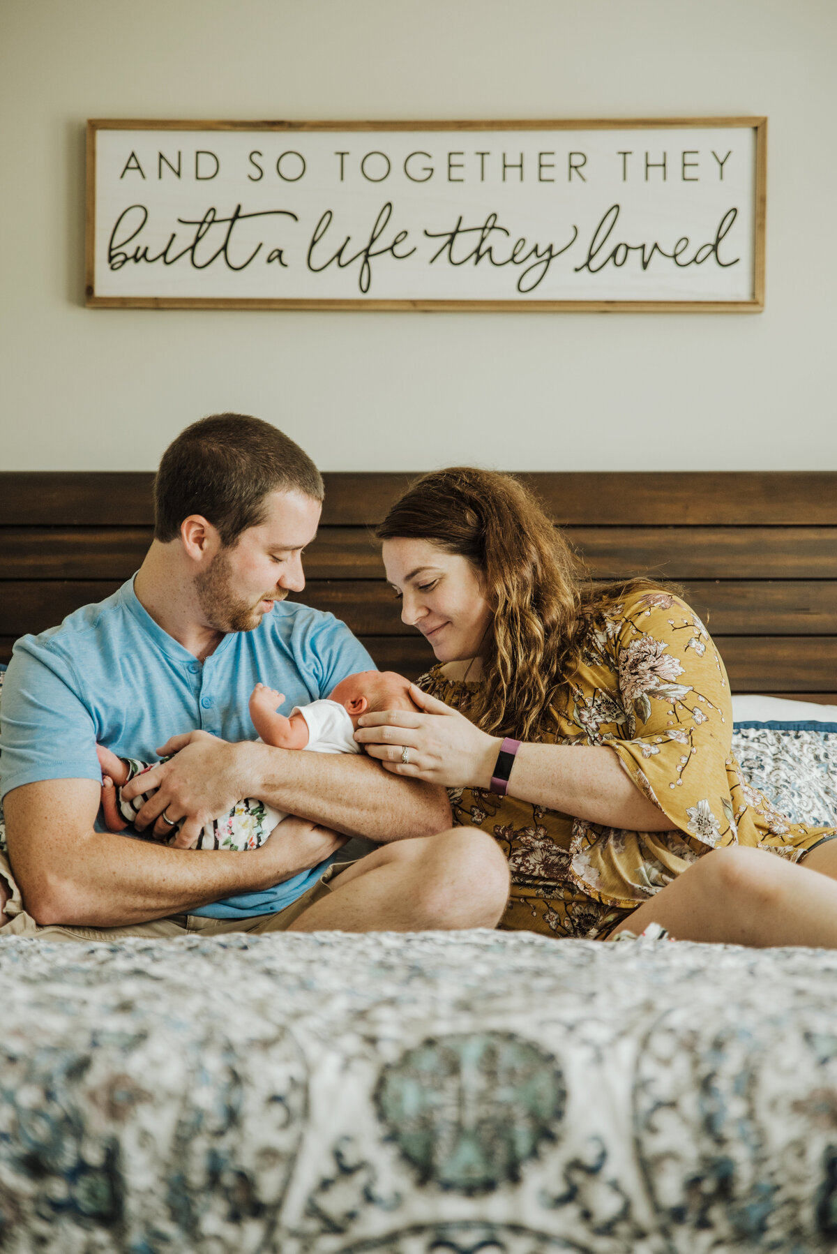 Henley's In Home Newborn Session 127