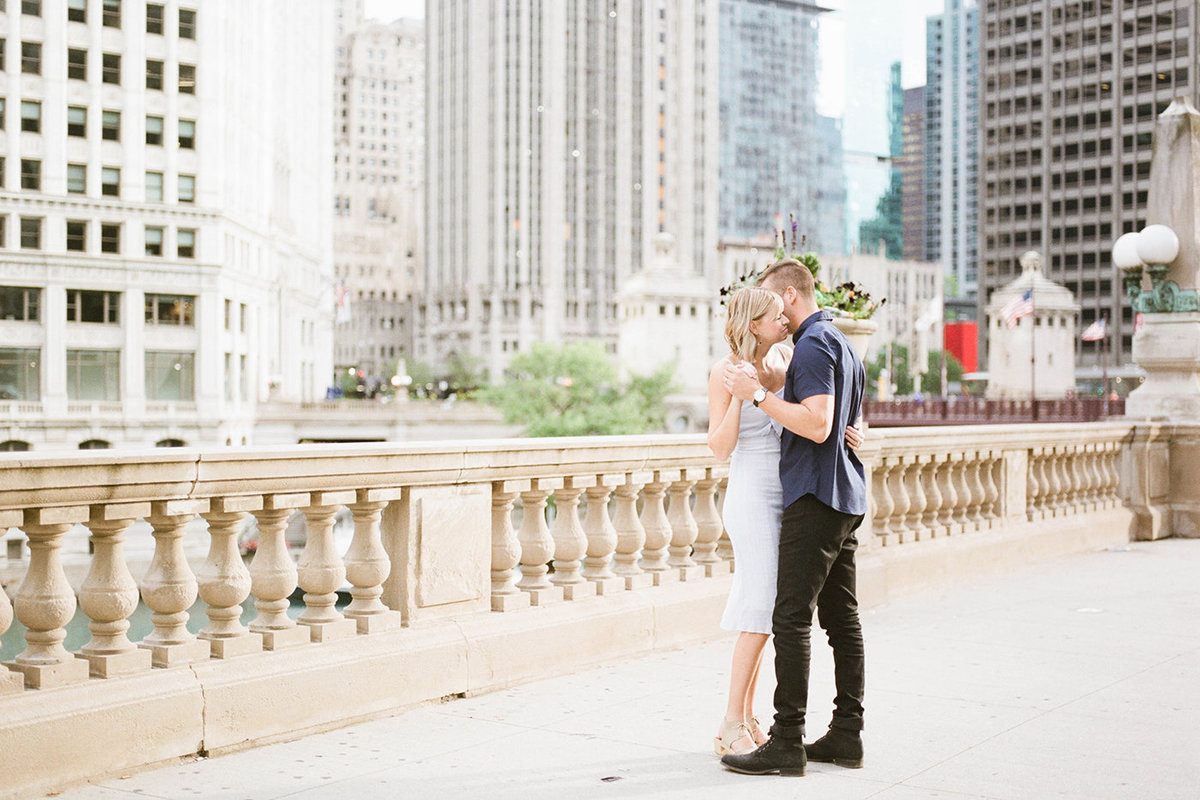 Chicago Wedding Photographer - Fine Art Film Photographer - Sarah Sunstrom - Sam + Morgan - Engagement Session - 7