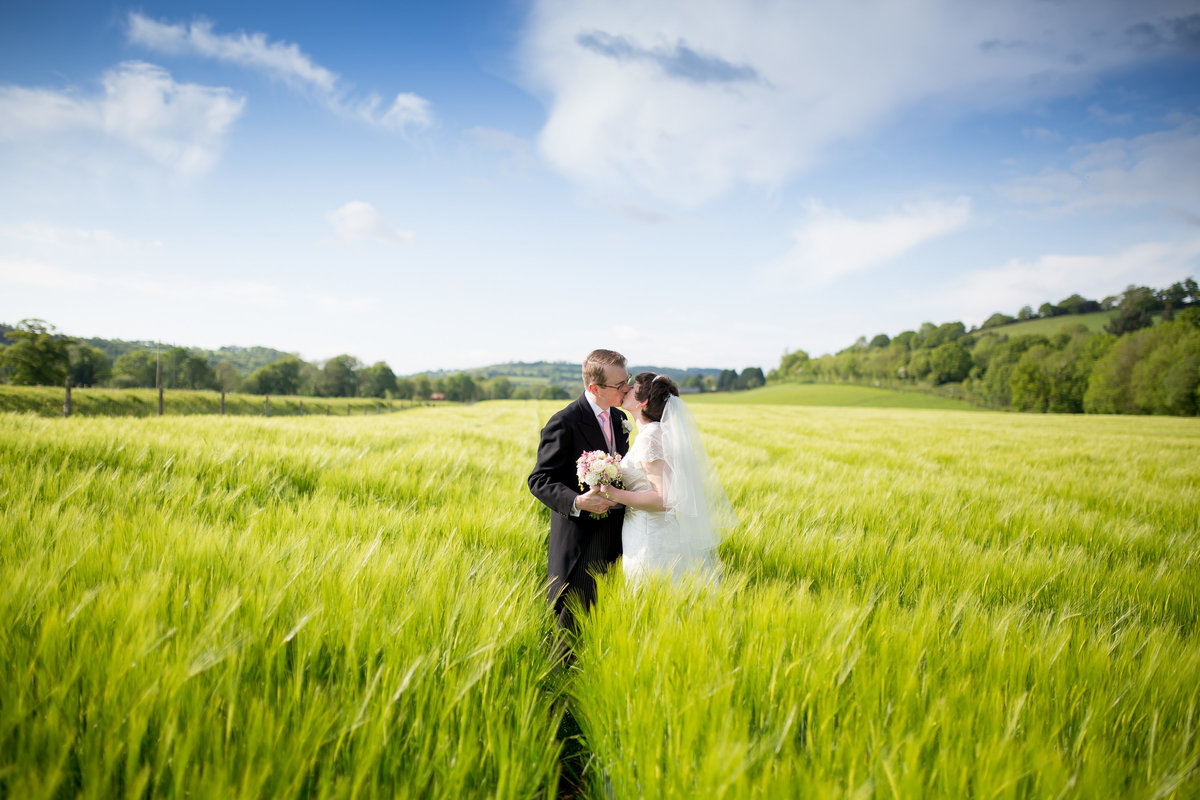 devon country natural wedding