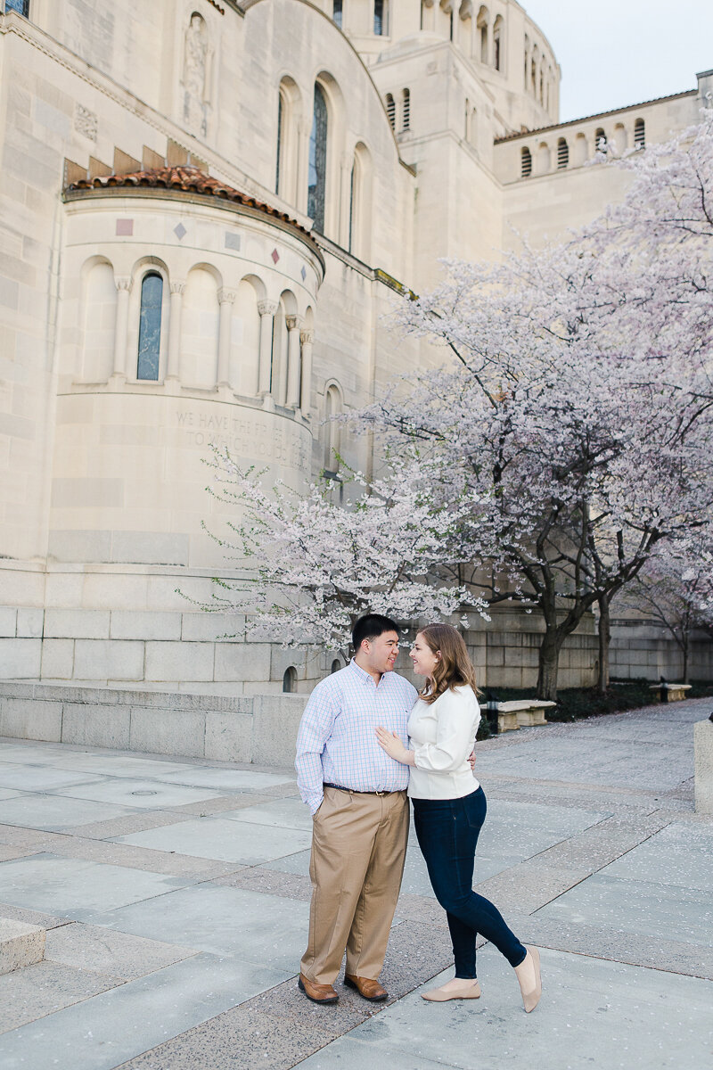 Catholic University Engagement Session