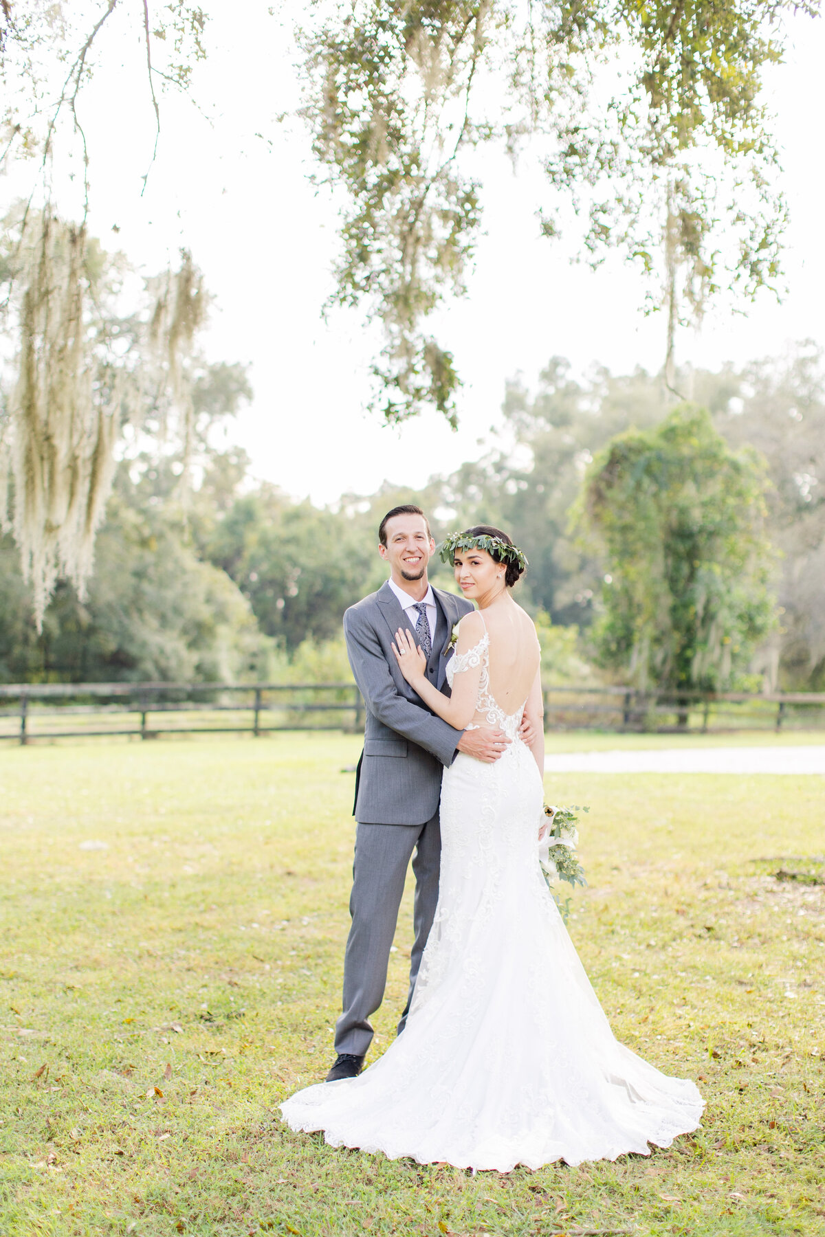 Backyard Ranch Wedding Ocala Florida-75